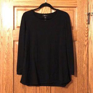 Style & Co black tunic type sweater